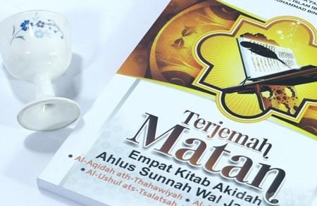 Buku Terjemah Matan Empat Kitab Aqidah