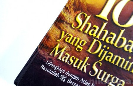 Buku Sahabat Yang Dijamin Surga