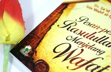 Buku Wasiat Rasulullah Menjelang Wafat