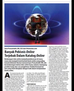 Banyak Pebisnis Online Terjebak Dalam Katalog Online