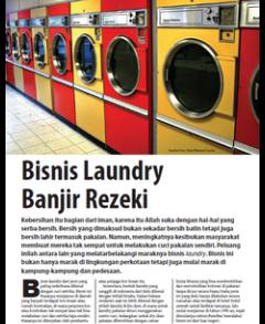 Bisnis Laundry Banjir Rezeki