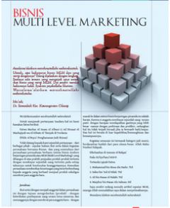 Bisnis Multi Level Marketing