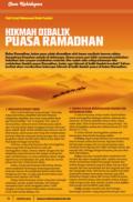 Hikmah Dibalik Puasa Ramadhan