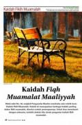 Kaidah Fiqh Muamalat Maaliyyah