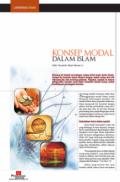 Konsep Modal Dalam Islam