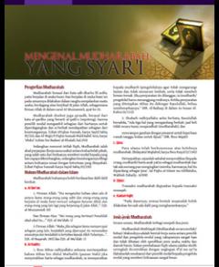Mengenal Mudharabah Yang Syar\'i