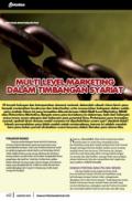 Multi Level Marketing Dalam Timbangan Syariat