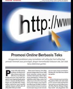 Promosi Online Berbasis Teks