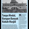 Tanpa Modal, Bangun Banyak Kubah Masjid