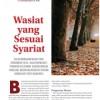 Wasiat Yang Sesuai Syariat