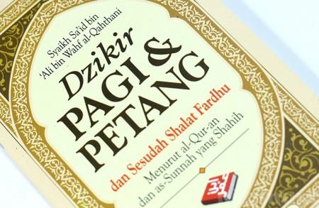 Buku Islam Dzikir Pagi dan Petang