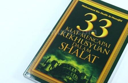 Buku Kiat Khusyuk Dalam Shalat