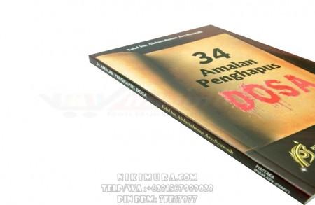 Buku Islam 34 Amalan Penghapus Dosa (Pustaka Imam As Syafii)