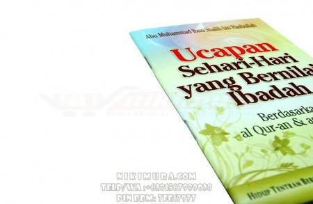 Buku Islam Ucapan Sehari-Hari yang Bernilai Ibadah (Pustaka Ibnu Umar)