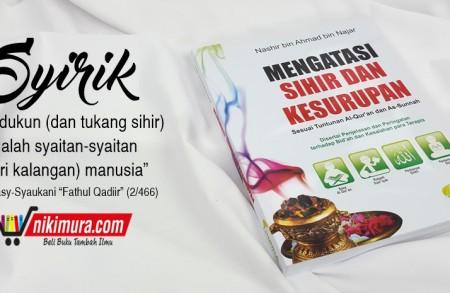 Buku Islam Mengatasi Sihir dan Kesurupan