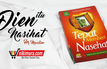 Buku Islam Tepat Memberi Nasehat