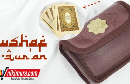 Mushaf Al-Qur'an Perjuz Dompet Kulit