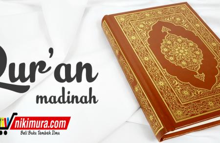 Al-qur'an Madinah Ukuran Sedang