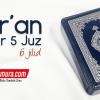 Al-Qur'an Saku Madinah Per 5 Juz 6 Jilid