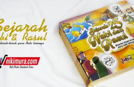 Buku Anak Sejarah 25 Nabi Dan Rasul