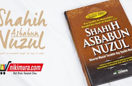Buku Shahih Asbabun Nuzul