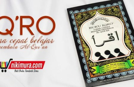 Buku Iqro' Cara Cepat Belajar Membaca al-Qur'an Ukuran Besar
