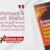Buku Saku Keutamaan & Faedah Shalat Sunnah Fajar, Shalat Shubuh, Shalat Isyraq (Pustaka Ibnu Umar)