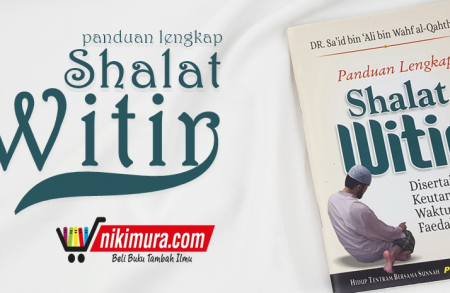 Buku Saku Panduan Lengkap Shalat Witir (Pustaka Ibnu 'Umar)