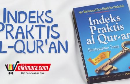 Buku Indeks Praktis al-Qur'an (Pustaka Ibnu Umar)