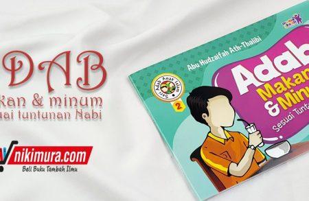 Buku Anak Adab Makan dan Minum (Media Sholih)