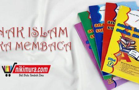 Buku Anak Islam Suka Membaca (5 Jilid) (Pustaka Amanah)