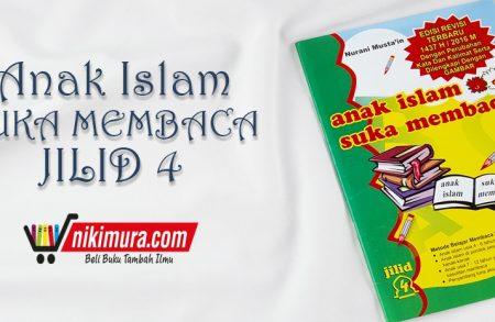Buku Anak Islam Suka Membaca Jilid 4 (Pustaka Amanah)