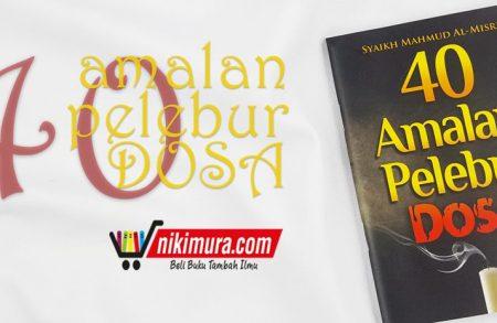 Buku Saku 40 Amalan Pelebur Dosa (Pustaka Al-Inabah)