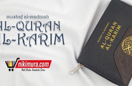 Mushaf Al-Madinah Al-Qur'an Al-Karim dengan Resleting (Dar Syafi'i)