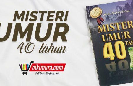 Buku Misteri Umur 40 Tahun (penerbit At-Tibyan)