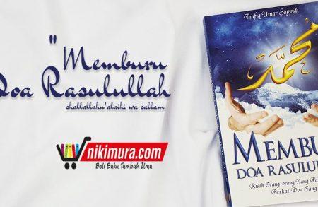 Buku Memburu Doa Rasulullah (Penerbit An-Naba')