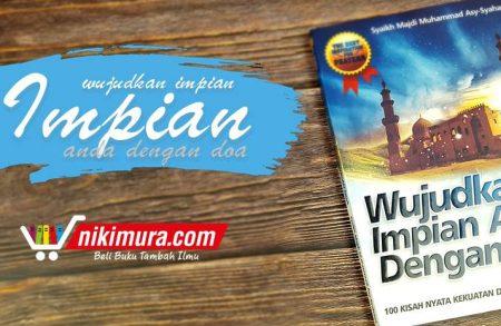 Buku Wujudkan Impian Anda dengan Doa (Penerbit An-Naba')