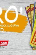 Buku IQRA' Cara Cepat Membaca Al Qur'an – 6 jilid tipis (Yayasan Team Tadarus AMM Yogyakarta)