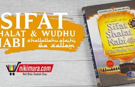 Buku Sifat Shalat Nabi, Kompilasi 3 Ulama Besar (Media Tarbiyah)