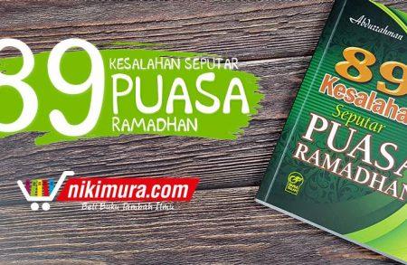Buku 89 Kesalahan Seputar Puasa Ramadhan (Darul Falah)