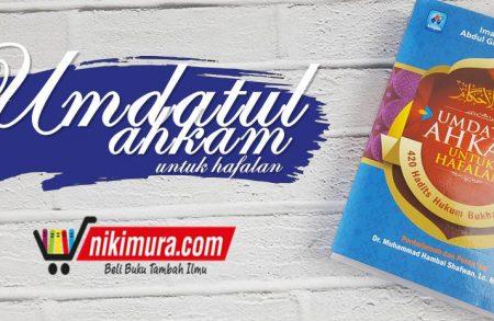 Buku Umdatul Ahkam untuk Hafalan (Pustaka Arafah)