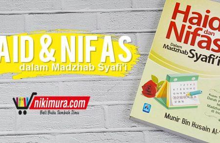 Buku Haid dan Nifas dalam Madzhab Syafii (Pustaka Arafah)