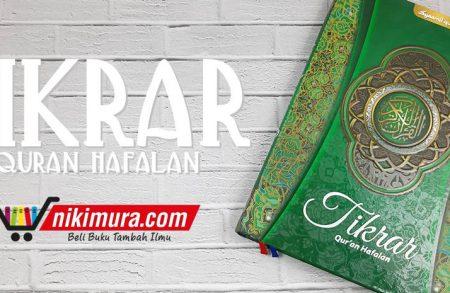 Tikrar Quran Hafalan A4 (Syamil Qur'an)