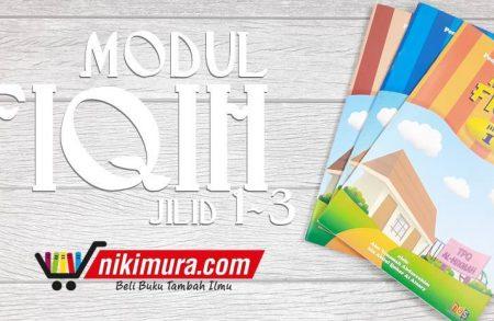 Buku Modul Fiqih jilid 1-3 (Hikmah Anak Shalih)
