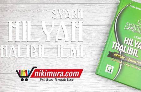 Buku Syarh hilyah Thalibil 'Ilmi (Griya Ilmu)