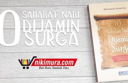 Buku 10 Sahabat Nabi Dijamin Surga (Pustaka Imam Syafi'i)