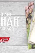 Buku Tulis Islami Tema Sholehah dengan Bersedekah (Adz-Dzahabi)